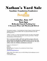 Looking for garage sale/ Yard sale items! For a great cause!