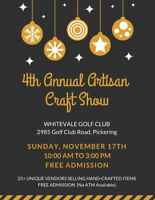 Whitevale Artisan Craft Show