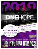 ONE HOPE 2019  - Oct 18 & 19th - Lloyd SK  (FREE Admission)