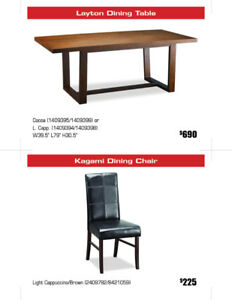 CLEARANCE SALE ALL Unique European Design Dining Sets 30% OFF!