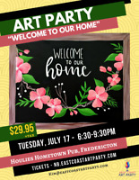 East Coast Art Party - Welcome to our Home