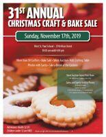 31st Annual Christmas Craft & Bake Sale