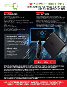 ULTIMATE ANDROID QUADCORE TV BOX FASTER AND EASIER THAN EVER Kitchener / Waterloo Kitchener Area image 1
