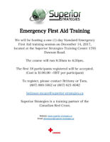 Emergency First Aid CPR/AED Training