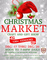 PETERBOROUGH CHRISTMAS CRAFT AND GIFT MARKET