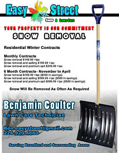 Snow Removal - Easy Street - Snow & Lawn Care