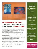 """The """"Out of the Box"""" art show"""