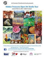 Hidden Treasures Open Art Studio Tour