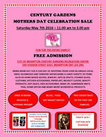 BIG  MOTHERS DAY CELEBRATION CENTURY GARDENS -FREE ADMISSION