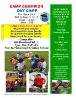 Day Camp Just $85/Child!
