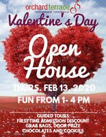 ORCHARD TERRACE Retirement Residence Valentine's Open House
