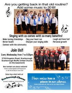 Singing Group in Scarborough