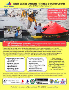 Offshore Survival at Sea Course for Sailors