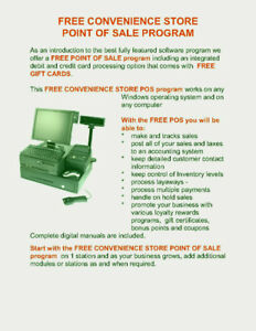 FREE CONVENIENCE STORE POS POINT OF SALE SOFTWARE - 100% OFF INT