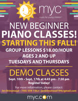 REGISTER NOW FOR FREE DEMO GROUP PIANO LESSONS!