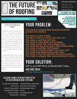 THE ULTIMATE ROOF SYSTEMS!