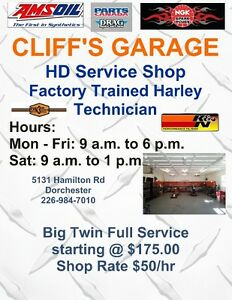 Full Service Harley Shop