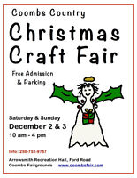 Coombs Country Christmas Craft Fair