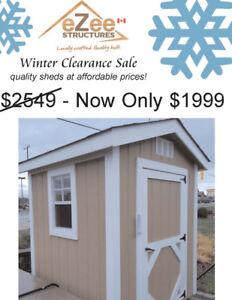 6x6 A-Frame Shed on Sale for an unbeatable price!