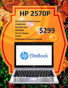OCTOBER LAPTOP SALE - HP 2570P ELITEBOOK ONLY $299!