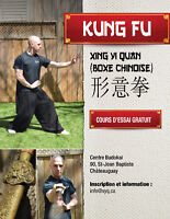 Cours d'art martiaux, Kung-fu traditionnel chinois.