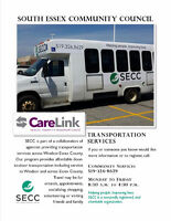 Transportation Services in Essex County