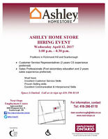 Hiring Event - Ashley Home Store