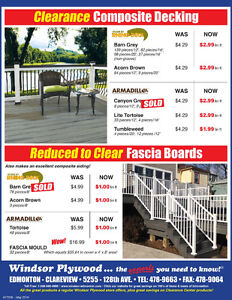 REVISED COMPOSITE DECKING CLEARANCE