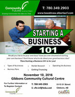 Starting a Business: 101 - In Gibbons