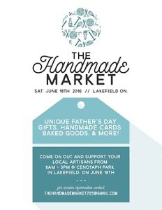 Lakefield Craft Sale - Sat. June 18th - The Handmade Market