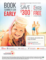 Book Summer Vacation Trip Early