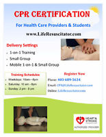 CPR for Healthcare Providers & AED
