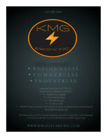 KMG Electric Inc. Promo pricing until year end (2018)