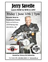 Jerry Savelle in Kelowna-Learn How to WIN in LIFE!