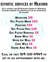 Esthetic Services by Heather