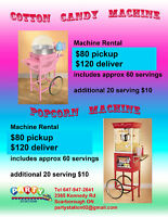 COTTON CANDY MACHINE FOR RENT