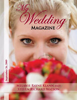 Get on the cover of our Wedding Magazine!
