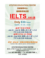 IELTS fast courses $30/hr only in August, 40 hrs Program