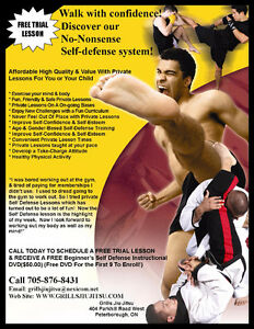 Learn Self Defense Faster With Private Lessons! Peterborough Peterborough Area image 1