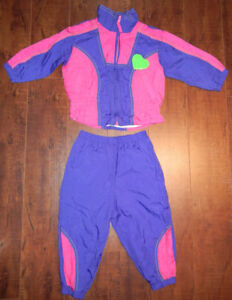 Retro Baby Girl 2-Piece Shell Suit (18M)