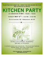 4 KITCHEN PARTIES/OPEN MIC - 4 PARTY DE CUISINE