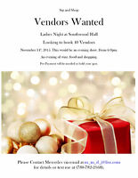 VENDORS WANTED for trade show!