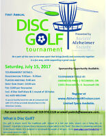 1st Annual Disc Golf Tournament