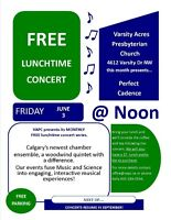 FREE CONCERT - PERFECT CADENCE