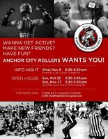 Anchor City Rollers wants YOU