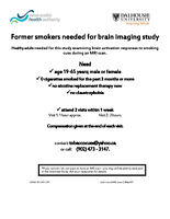 Heatlhy Former Smokers needed for study