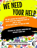 VOLUNTEERS NEEDED FOR A FUNDRAISING EVENT: RUN, WALK, ROLL!!