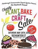 Plant and Bake Sale