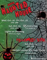 Arden Haunted House & Halloween Bash