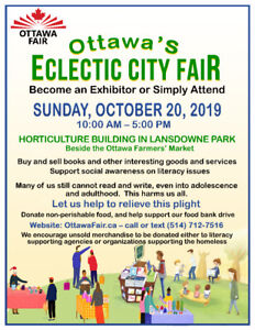 Ottawa's City Fair - Apply to Become an Exhibitor